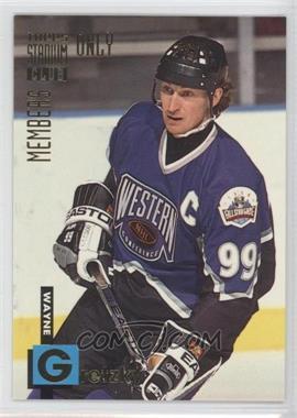 1994 Topps Stadium Club Members Only Box Set [Base] #5 - Wayne Gretzky