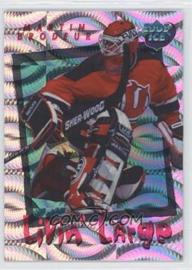 1995-96 Collector's Edge Ice - Livin' Large #L11 - Martin Brodeur