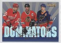 Paul Coffey, Chris Chelios, Al MacInnis /5000