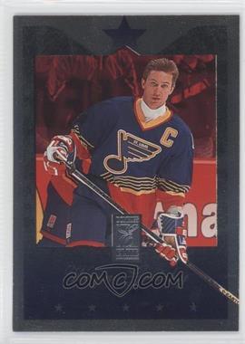 1995-96 Donruss Elite Die-Cut Uncut #58 - Wayne Gretzky