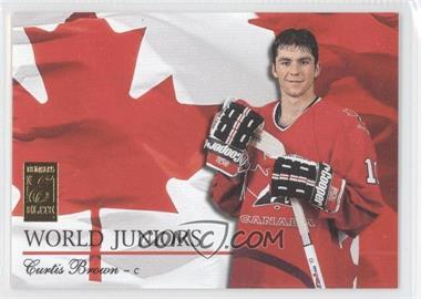 1995-96 Donruss Elite World Juniors #11 - Curtis Brown /1000