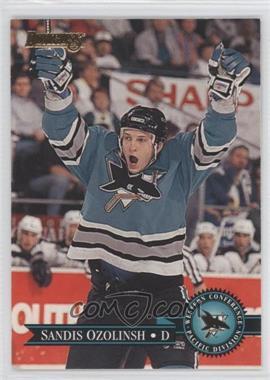 1995-96 Donruss #34 - Sandis Ozolinsh - Courtesy of COMC.com