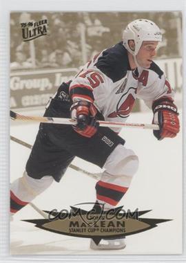 1995-96 Fleer Ultra #193 - John MacLean