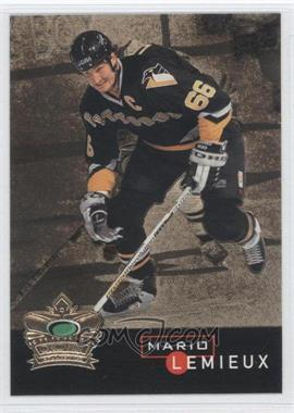 1995-96 Parkhurst Crown Collection Gold #3 - Mario Lemieux
