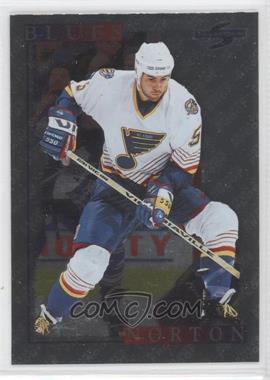 1995-96 Score - [Base] - Artist's Proof Black Ice #178 - Jeff Norton
