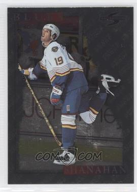1995-96 Score - [Base] - Artist's Proof Black Ice #20 - Brendan Shanahan