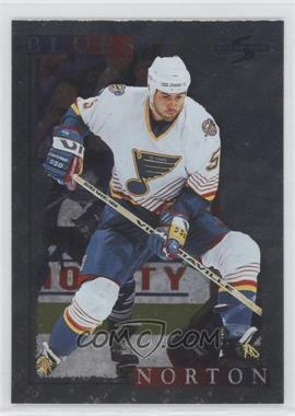1995-96 Score Artist's Proof Black Ice #178 - Jeff Norton