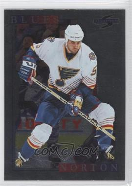 1995-96 Score Black Ice #178 - Jeff Norton