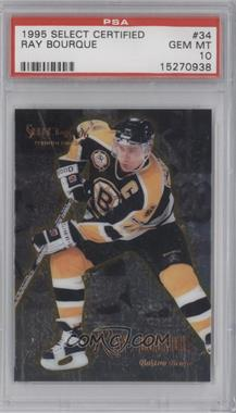 1995-96 Select [???] #34 - Ray Bourque [PSA 10]