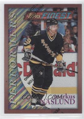 1995-96 Topps Finest Refractor #154 - Markus Naslund