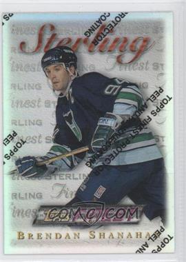 1995-96 Topps Finest Refractor #65 - Brendan Shanahan