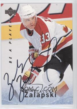 1995-96 Upper Deck Be a Player - [Base] - Autographs [Autographed] #S108 - Zarley Zalapski
