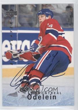 1995-96 Upper Deck Be a Player - [Base] - Autographs [Autographed] #S111 - Lyle Odelein