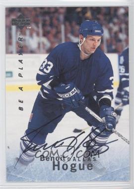 1995-96 Upper Deck Be a Player - [Base] - Autographs [Autographed] #S126 - Benoit Hogue