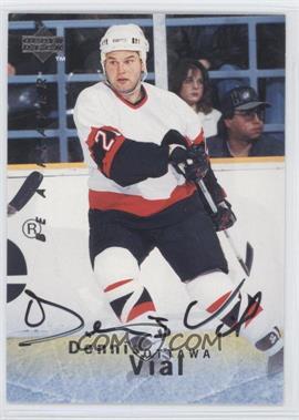 1995-96 Upper Deck Be a Player - [Base] - Autographs [Autographed] #S131 - Dennis Vial