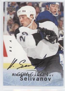 1995-96 Upper Deck Be a Player - [Base] - Autographs [Autographed] #S145 - Alexander Selivanov