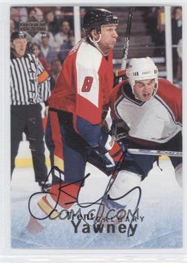 1995-96 Upper Deck Be a Player - [Base] - Autographs [Autographed] #S146 - Trent Yawney