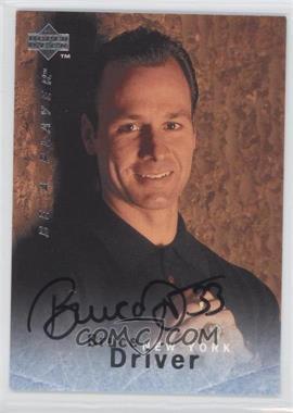 1995-96 Upper Deck Be a Player - [Base] - Autographs [Autographed] #S147 - Bruce Driver