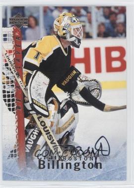 1995-96 Upper Deck Be a Player - [Base] - Autographs [Autographed] #S151 - Craig Billington