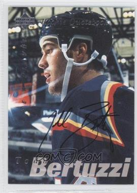 1995-96 Upper Deck Be a Player - [Base] - Autographs [Autographed] #S168 - Todd Bertuzzi