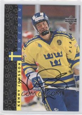 1995-96 Upper Deck Be a Player - [Base] - Autographs [Autographed] #S180 - Kenny Jonsson