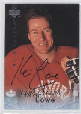 1995-96 Upper Deck Be a Player - [Base] - Autographs [Autographed] #S40 - Kevin Lowe