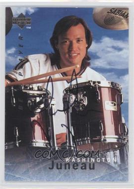 1995-96 Upper Deck Be a Player - [Base] - Autographs [Autographed] #S58 - Joe Juneau