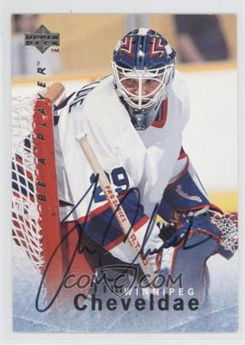 1995-96 Upper Deck Be a Player - [Base] - Autographs [Autographed] #S76 - Tim Cheveldae