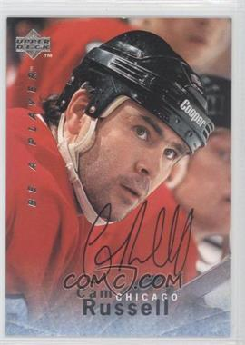 1995-96 Upper Deck Be a Player - [Base] - Autographs [Autographed] #S84 - Cam Russell