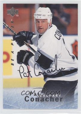 1995-96 Upper Deck Be a Player - [Base] - Autographs [Autographed] #S92 - Pat Conacher