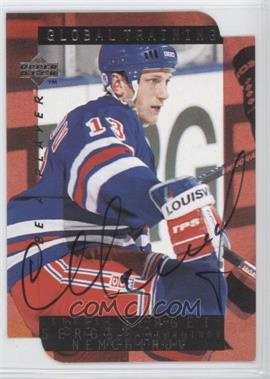 1995-96 Upper Deck Be a Player - [Base] - Die-Cut Autographs [Autographed] #S209 - Sergei Nemchinov