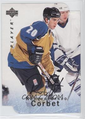 1995-96 Upper Deck Be a Player - [Base] - Die-Cut Autographs [Autographed] #S78 - Rene Corbet