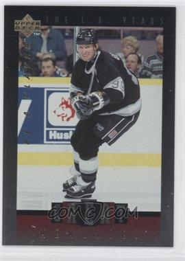 1995-96 Upper Deck Be a Player - Great Memories #GM02 - Wayne Gretzky