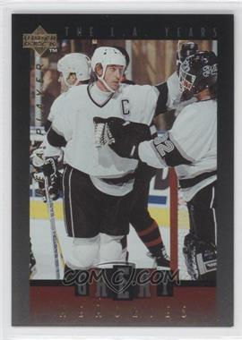 1995-96 Upper Deck Be a Player - Great Memories #GM03 - Wayne Gretzky