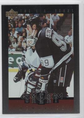 1995-96 Upper Deck Be a Player - Great Memories #GM04 - Wayne Gretzky