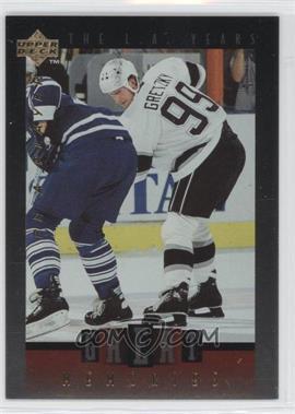 1995-96 Upper Deck Be a Player - Great Memories #GM08 - Wayne Gretzky