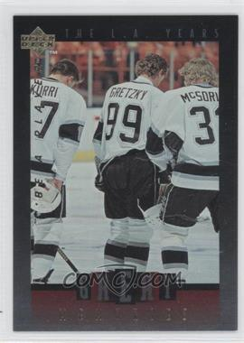 1995-96 Upper Deck Be a Player - Great Memories #GM09 - Wayne Gretzky