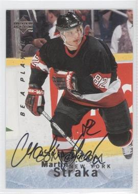 1995-96 Upper Deck Be a Player Autographs [Autographed] #S106 - Martin Straka