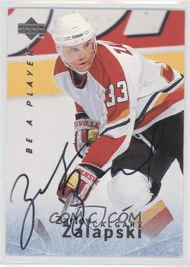 1995-96 Upper Deck Be a Player Autographs [Autographed] #S108 - Zarley Zalapski