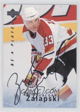 1995-96 Upper Deck Be a Player Autographs [Autographed] #S108 - Zarley Zalapski