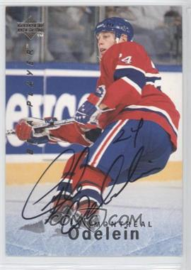 1995-96 Upper Deck Be a Player Autographs [Autographed] #S111 - Lyle Odelein