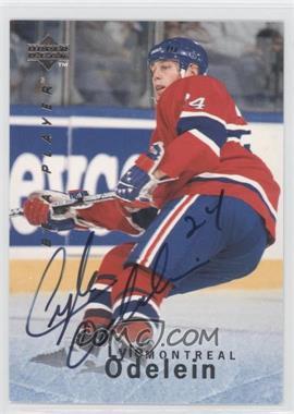 1995-96 Upper Deck Be a Player Autographs [Autographed] #S111 - Lyle Odelein