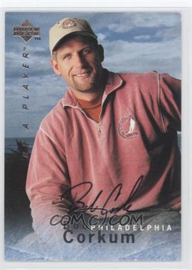1995-96 Upper Deck Be a Player Autographs [Autographed] #S112 - Bob Corkum
