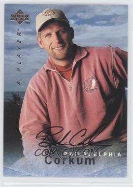 1995-96 Upper Deck Be a Player Autographs [Autographed] #S112 - Bob Corkum