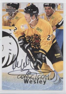 1995-96 Upper Deck Be a Player Autographs [Autographed] #S116 - Glen Wesley