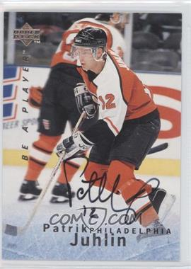 1995-96 Upper Deck Be a Player Autographs [Autographed] #S119 - Patrik Juhlin