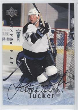 1995-96 Upper Deck Be a Player Autographs [Autographed] #S120 - John Tucker
