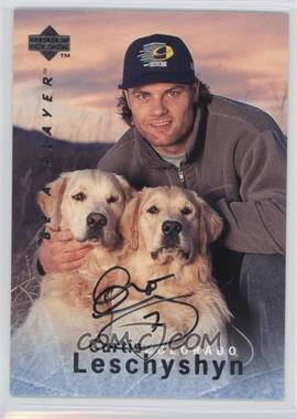 1995-96 Upper Deck Be a Player Autographs [Autographed] #S129 - Curtis Leschyshyn