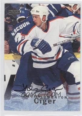 1995-96 Upper Deck Be a Player Autographs [Autographed] #S137 - Zdeno Ciger
