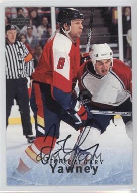 1995-96 Upper Deck Be a Player Autographs [Autographed] #S146 - Trent Yawney